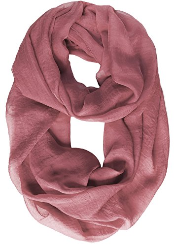 KMystic Ultra Lightweight Solid Infinity - Brown Viscose Scarf Shopping Results