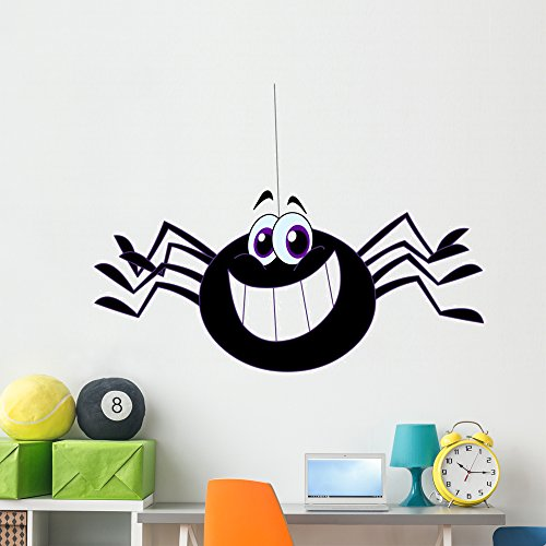 Spider Wall Decal by Wallmonkeys | Peel and Stick Graphic | 60
