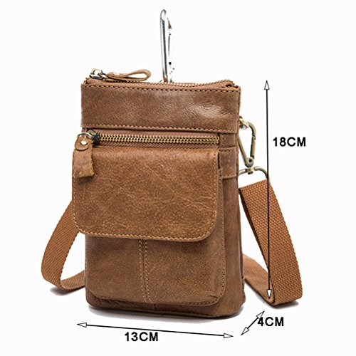 Halloween Cross Backpack Slim las Mens Zipper Christmas Body Zhhlaixing Cycling Bag Shoulder Waist Coffee De mujeres Womens Mini Bag qfx8cXvwT