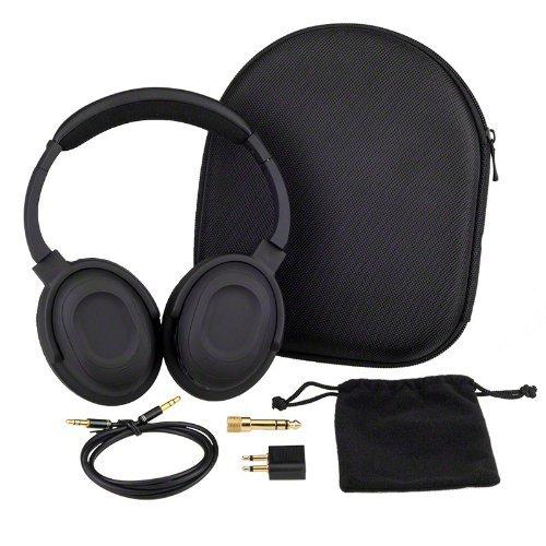 7dayshop Headphones AERO 7 Active Noise Cancelling Headphones with Aeroplane Kit and Travel Case