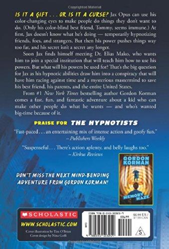 The Hypnotists: Gordon Korman: 9780545503259: Amazon.com: Books