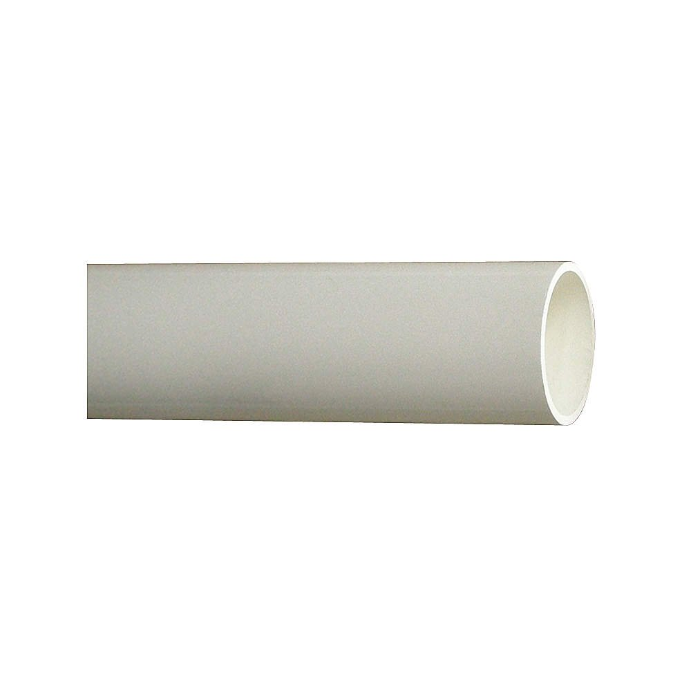 Pipe, Schedule 40, 8 In, 10 ft. Length, PVC