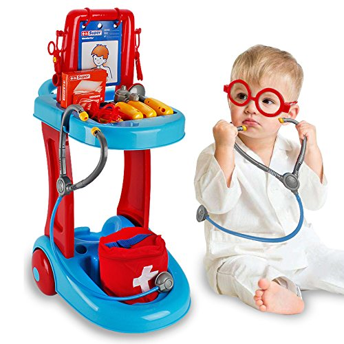 sam-1993 1SET/17PCS I'm a Little Doctor Nurse Toys Pretend Play Boy&Girl Toy Children's GIFT from sam-1993