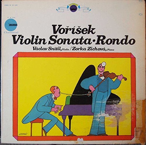 Vorisek - Violin Sonata In G Major for Violin & Piano, Rondo for violin & Piano, Op. 6, Vaclav Snitil, Violin, Zorka Zichova, - Mall Stores Crossroads