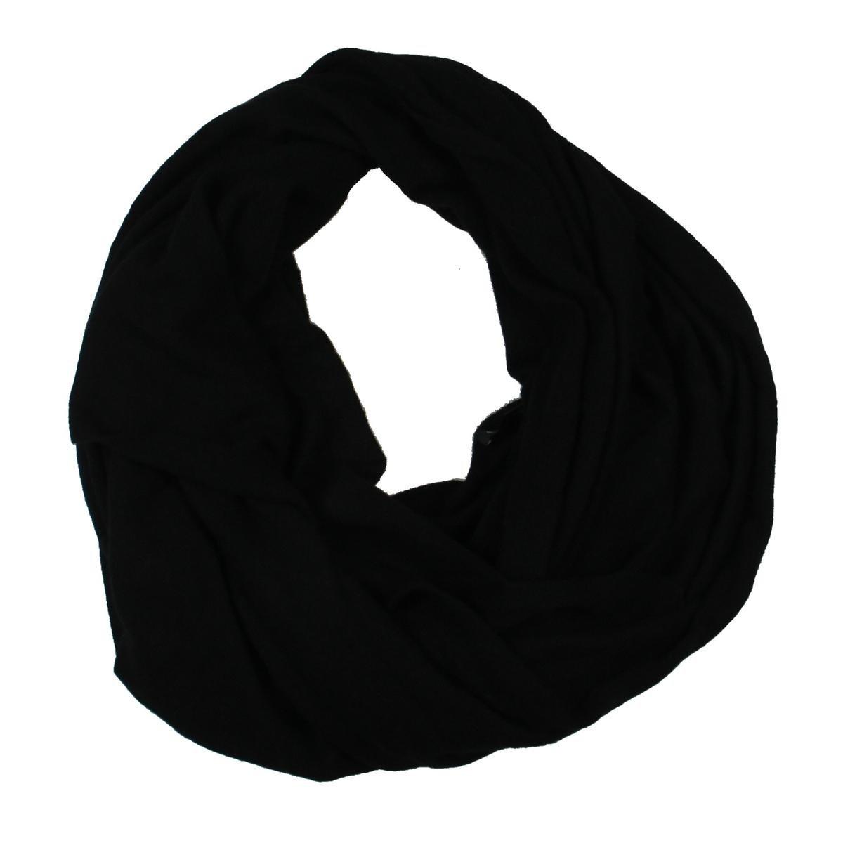 Private Label Womens Travel Cashmere Soft Wrap Black O/S