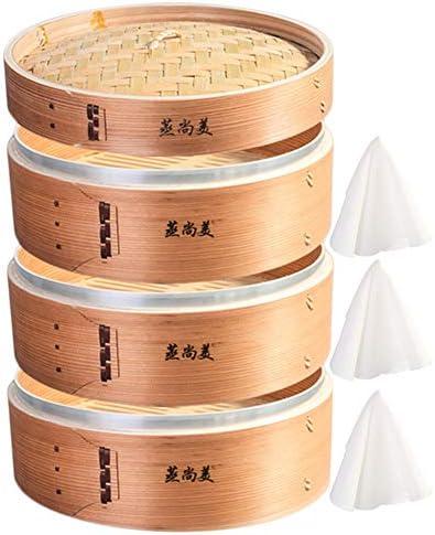Hcooker スタンダード ワントレイ キッチン 木製 スチーマー バスケット アジアンクッキング バンズ ダンプリング 野菜 魚 ライス Standard 12