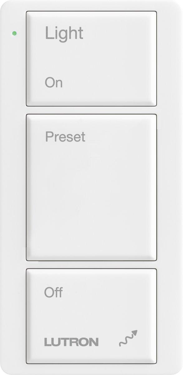 Lutron M2-3B-L-WH Maestro Wireless Pico 3-Button Control, White - Switch Plates - Amazon.com