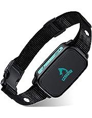 Bark Collar for Small Dog with 4 Modes, Rechargeable No Shock Dog Bark Collar, Humane Training Anti Bark Collar