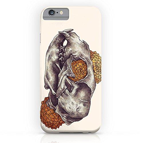 Society6 Inktober Cat Skull Slim Case iPhone 7