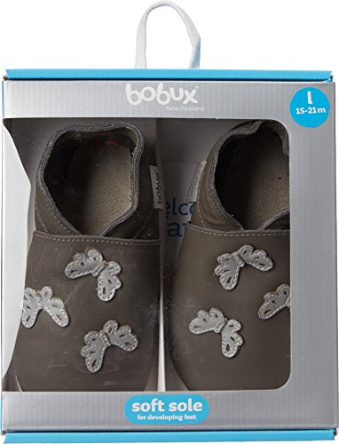 Bobux Limited Edition Grey Butterfly Gris - gris
