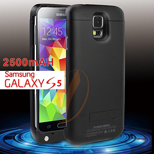 Samsung Galaxy S5 Extended Battery Backup Power Pack External Charger Case/Cover