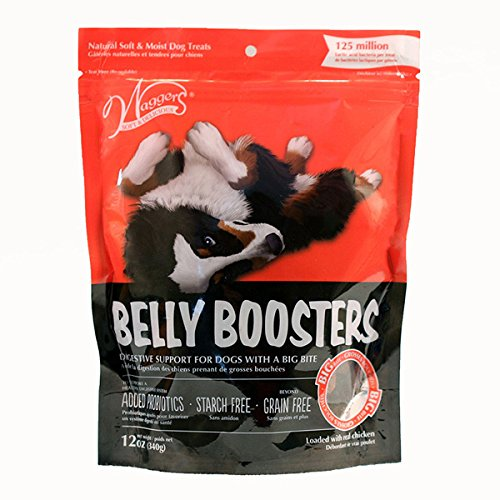 Waggers 552015.0 Belly Boosters Dog Treats Dry Pet Food, One Size