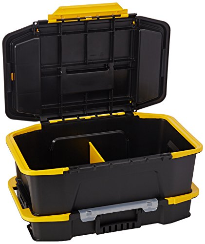 Deep Tool Box (Stanley Hand Tools STST19900 Click & Connect 2-in-2 Deep Tool Box And Organizer)