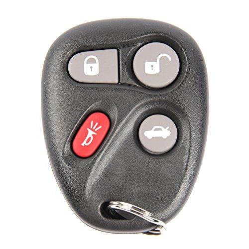 ACDelco 25695954 GM Original Equipment 4 Button Keyless Entry Remote Key Fob