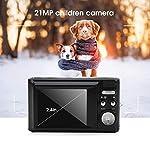 Lecxin-8-Times-Digital-Zoom-21MP-Digital-Camera-Multifunction-HD-Kids-Camera-Kids-Electronics-Gift-Camcorder-for-Children-Beginnerblack