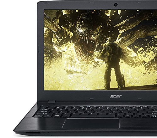 Acer Aspire E 15 E5-575G-57D4 15.6-Inches Full HD Notebook (7th Gen Intel Core i5-7200U, GeForce 940MX, 8GB DDR4 SDRAM, 256GB SSD, Windows 10 Home), Obsidian Black by Acer (Image #4)