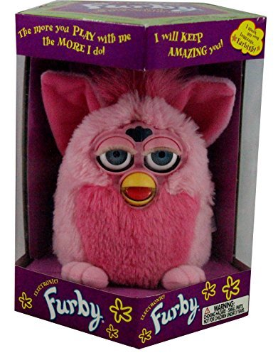 Tiger Furby Pink Flamingo 1999