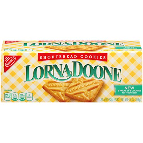 Nabisco Lorna Doone Shortbread - Lorna Doone Shortbread Cookies, 4.5 Ounce (Pack of 12)