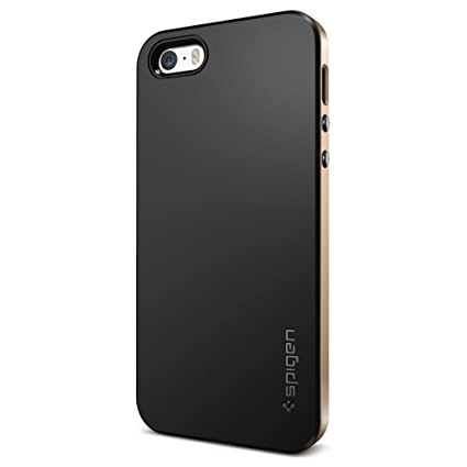 Spigen Neo Hybrid IPhone 5S 5 Case With Flexible Inner Protection And Reinforced Hard Bumper