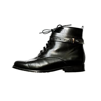 b9dffb51f Amazon.com | BHAVA Women's Moby Biker Boot (40 (9 US) (US)) | Ankle ...