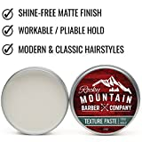 Hair-Paste-for-Men–Hair-Styling-Cream-with-Pliable-Light-Firm-Hold-for-All-Hair-Styles-Shine-Free-Matte-Finish-with-Natural-Plant-Derived-Ingredients–Easy-to-Wash-Out-2-OZ