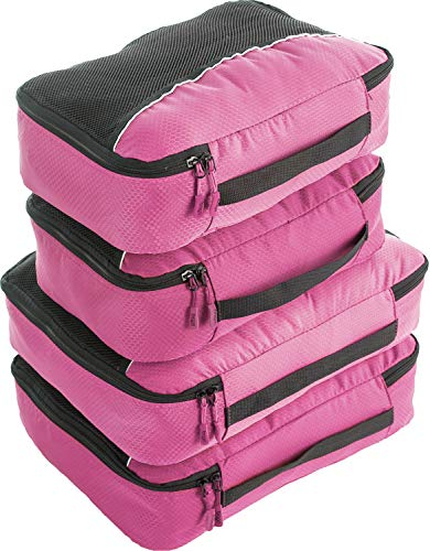 Bago Packing Cubes for Travel – Luggage & Suitcase Organizer – Cube Set