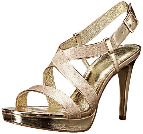 Adrianna Women Dress Gold Anette Papell Sandal Platform zazFr
