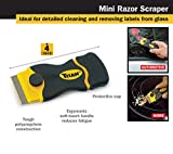 Titan Tools 2-Piece Multi-Purpose Razor Scraper Set with Extra Razor Blades scraper knife, 17002