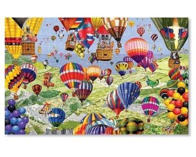 Gail Pitt Coastal Balloons 1000pc Jigsaw Puzzle by SunsOut