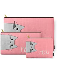 Society6 Meow Carry-All Pouch