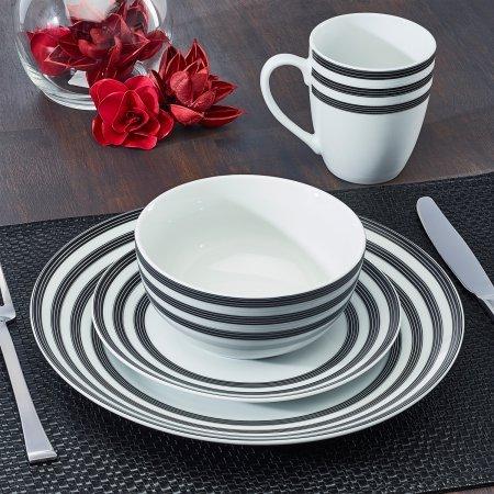 Amazon.com: Cruise - Vajilla de porcelana de 16 piezas ...