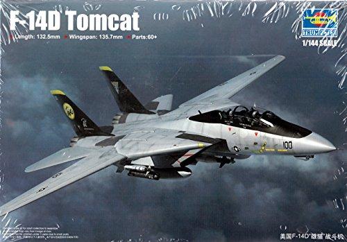 (Trumpeter F 14D Tomcat Model Kit)