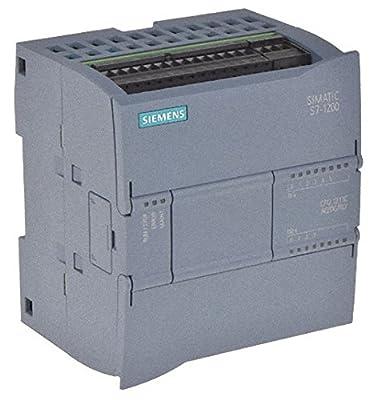 Siemens 6ES7 211-1BE40-0XB0 SIMATIC S7-1200, CPU 1211C, COMPACT CPU, AC/DC/RELAY, ONBOARD I/O: 6 DI 24V DC; 4 DO RELAY 2A; 2 AI 0-10V DC, POWER SUPPLY: AC 85-264 VAC