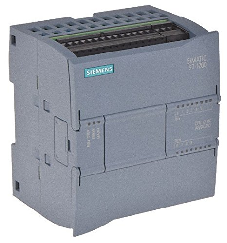 Siemens 6ES7 211-1BE40-0XB0 SIMATIC S7-1200, CPU 1211C, COMPACT CPU, AC/DC/RELAY, ONBOARD I/O: 6 DI 24V DC; 4 DO RELAY 2A; 2 AI 0-10V DC, POWER SUPPLY: AC 85-264 VAC