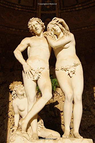 (Adam and Eve Sculpture Boboli Gardens Florence Journal: 150 page lined notebook/diary)
