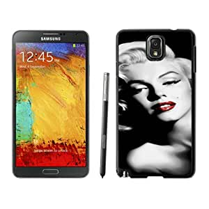 Samsung Galaxy Note 3 Case ,Unique And Fashionable Designed Case With Marilyn Monroe Black For Samsung Galaxy Note 3 Phone Case