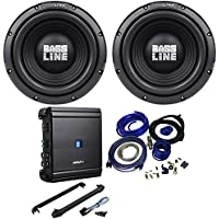 (2) Alpine SWA-12S4 12 1500W Subwoofers+Alpine MRV-M500 Amplifier+Amp Kit