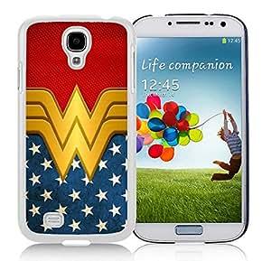 Wonder Women White For Samsung Galaxy S4 Case Genuine and Cool Design