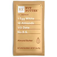 RX Nut Butter, Almond Butter, 10 Count, Keto Snack, Gluten Free