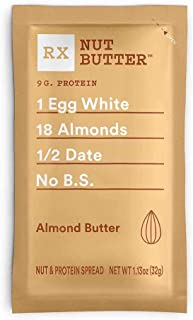 product image for RX Nut Butter, Almond Butter, 10 Count, Keto Snack, Gluten Free