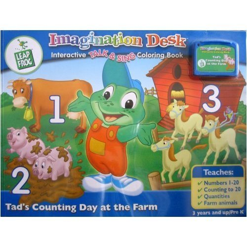 LeapFrog Imagination Desk: Tad's Counting Day at The Farm Cartridge