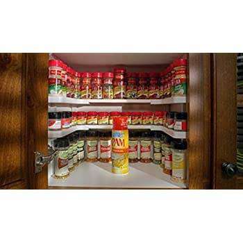 Amazon Com Spicy Shelf Patented Spice Rack And Stackable