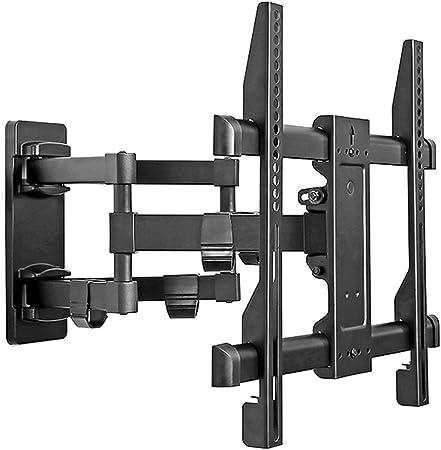 Soportes para TV Accesorios de Brazo articulado dinámico Completo Soporte Giratorio retráctil HDTV Colgante de Pared for TV Interior (Color : Black, Size : 60 * 40 * 6cm): Amazon.es: Hogar
