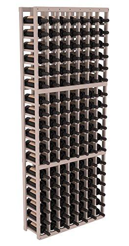 Wine Racks America Ponderosa Pine 7 Column Wine Cellar Kit. 13 Stains to Choose From! (126 Bottle Wine Rack)