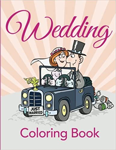 Amazon Wedding Coloring Book 9781681855790 Speedy Publishing LLC Books