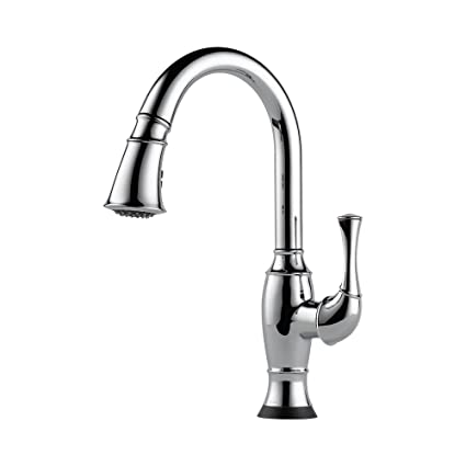 Brizo 64003lf Pc Talo Pullout Spray High Arc Kitchen Faucet With