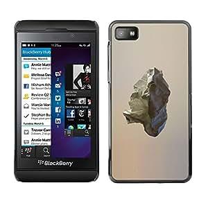 """For Blackberry Z10 Case , Comet Asteroide rock minimalista Arte"""" - Diseño Patrón Teléfono Caso Cubierta Case Bumper Duro Protección Case Cover Funda"""