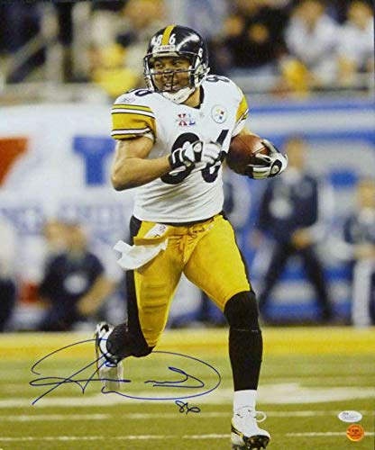 Signed Hines Ward Photograph - 16x20 13708 - JSA Certified - Autographed NFL Photos
