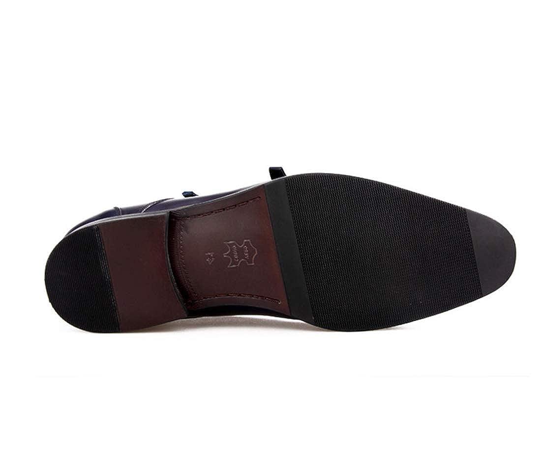 Herrenschuhe Schnallen Cowhide Fall Mode Evening Schuhe Oxfords Braun/Party & Evening Mode 766400