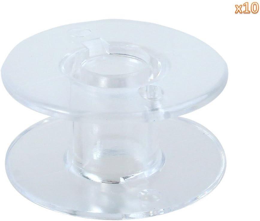 niceeshop(TM) 15J Estilo Bobinas Plástico de Hilo Custura del ...